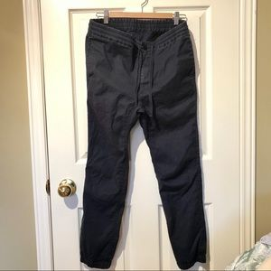 Beams Linens Blend Pants